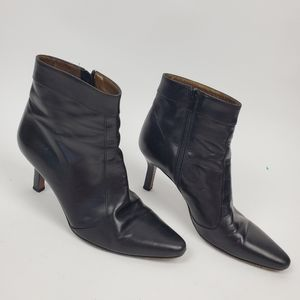 Cole Haan City 7.5B Point Toe Ankle Booties Boots